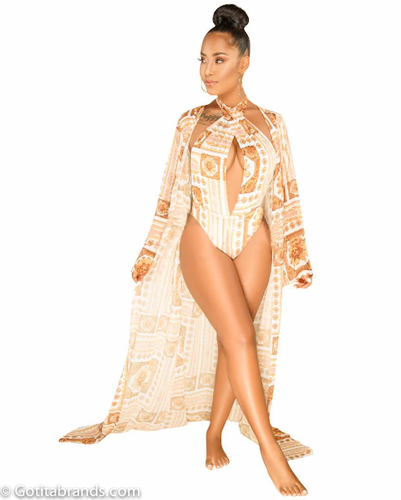 44bdff8f0f6f5 Barocco Print Dresses – New Stylish Design – Swimsuit and Cover Up Sets ...