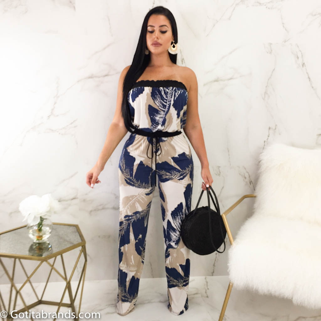 08405806c80 Women s Jumpsuits Fashion Clothing - Wrapped Off Shoulder - Trendy ...