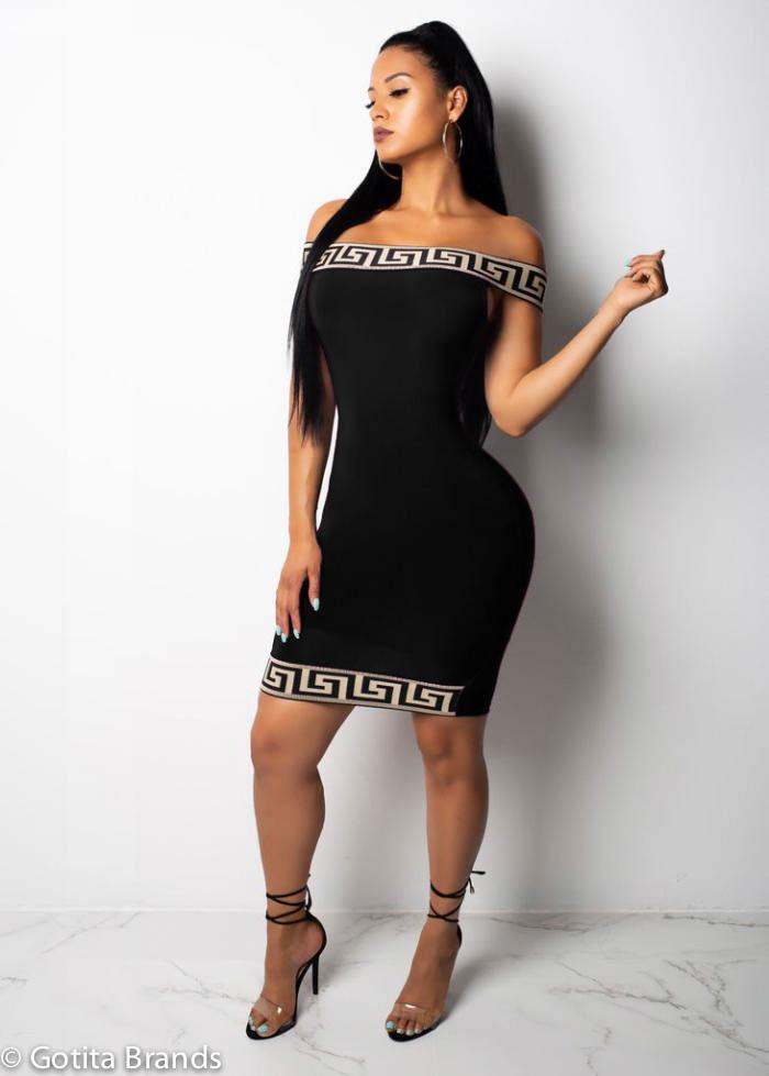 74efb7b5ef8 Cute Party Dress Stylish Fashionista Outfit - Black Dress - GOTITA ...